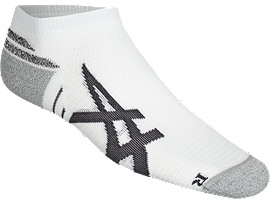 Front Top view of ROAD ANKLE GRIP, REAL WHITE