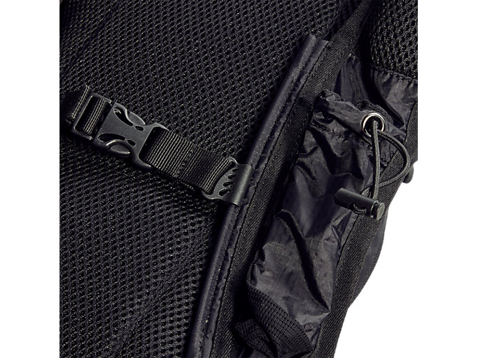 Back view of LIGHT WEIGHT RUNNING BACKPACK, PERFORMANCE BLACK