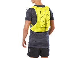 Front Top view of LIGHT WEIGHT RUNNING BACKPACK, LEMON SPARK