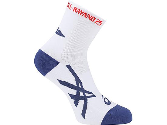 KAYANO25慢跑襪 BRILLIANT WHITE