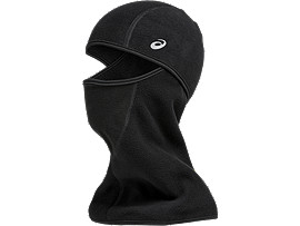 Front Top view of BALACLAVA, PERFORMANCE BLACK