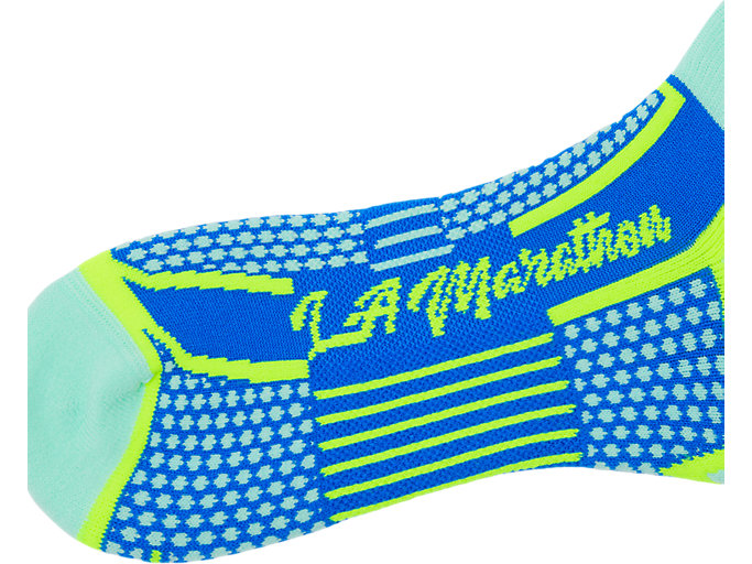 Alternative image view of LA Marathon No Show Socks