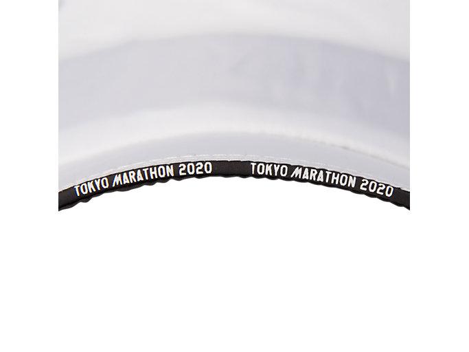 Alternative image view of TMランニングウーブンキャップ, ホワイト