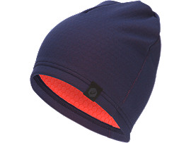 Front Top view of THERMAL BEANIE, PEACOAT