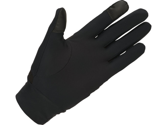 Back view of THERMAL GLOVES, PERFORMANCE BLACK/PERFORMANCE BLACK