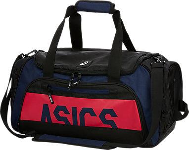 b48f50507 SMALL DUFFLE BAG 40L   Peacoat/ Pink   ASICS Australia