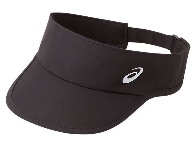 Front Top view of VISOR, PERFORMANCE BLACK