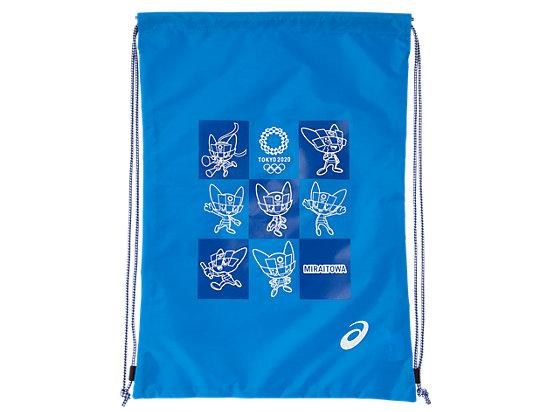 ライトバッグ(東京2020オリンピックマスコット), ブルー