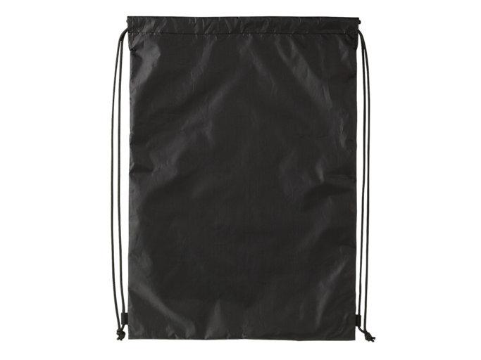 Back view of グラフィックライトサックL, ブラック×エンジ
