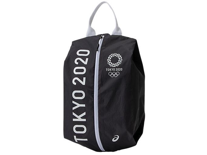 Alternative image view of シューズケース(東京2020オリンピックエンブレム), ブラック