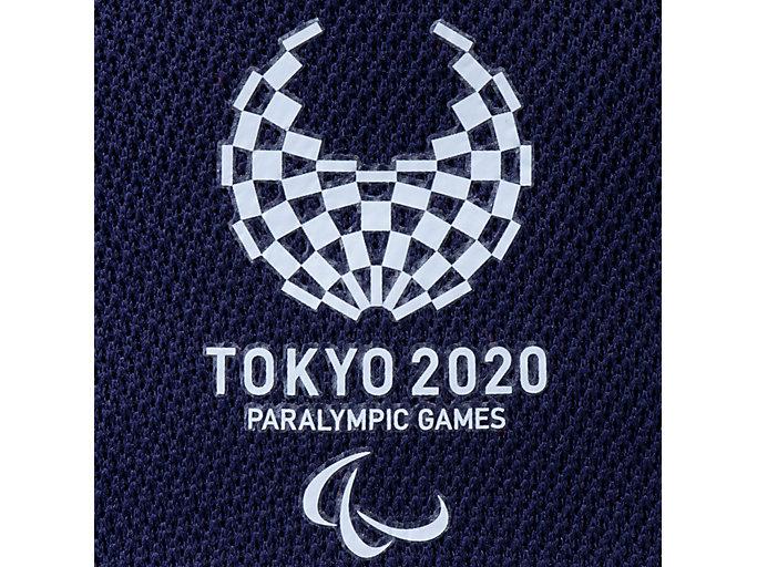 Alternative image view of キャップ(東京2020パラリンピックエンブレム), EMネイビー