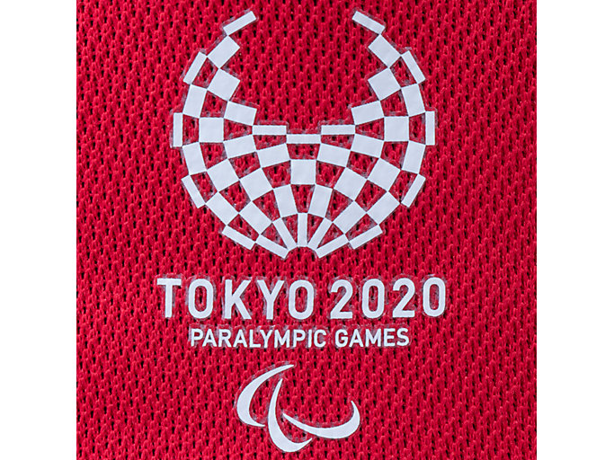 Alternative image view of キャップ(東京2020パラリンピックエンブレム), レッド