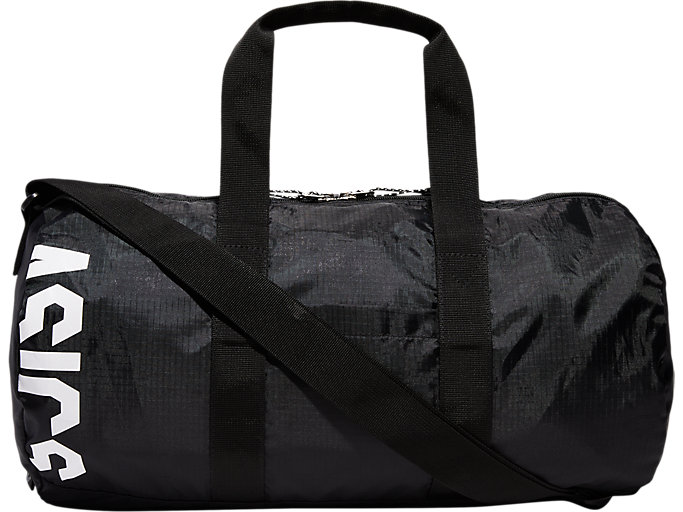 Front Top view of PACKABLE DUFFEL 25, PERFORMANCE BLACK