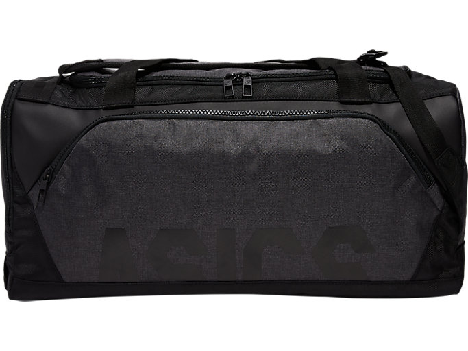 Front Top view of DUFFEL BACKPACK 45, GRAPHITE GREY