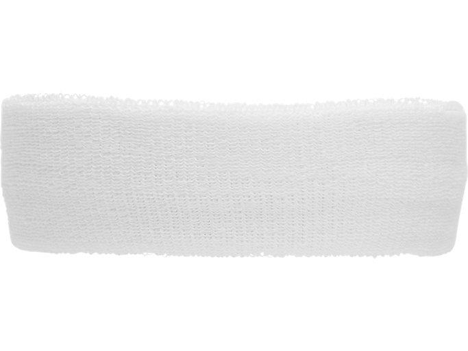 Back view of PERFORMANCE HEADBAND, PERFORMANCE BLACK/BRILLIANT WHITE