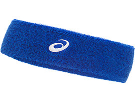 Front Top view of PERFORMANCE HEADBAND, ILLUSION BLUE