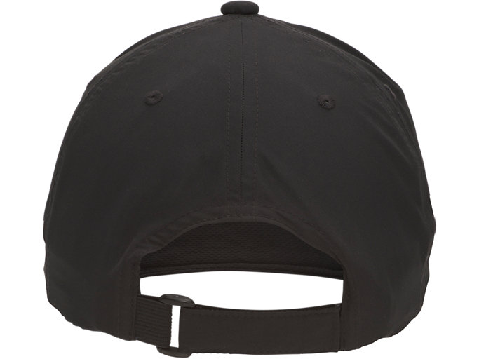 Back view of PERFORMANCE CAP, PERFORMANCE BLACK/BRILLIANT WHITE