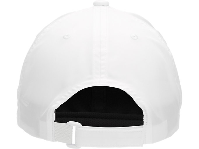 Back view of PERFORMANCE CAP, BRILLIANT WHITE/PERFORMANCE BLACK