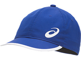 Front Top view of PERFORMANCE CAP, ILLUSION BLUE