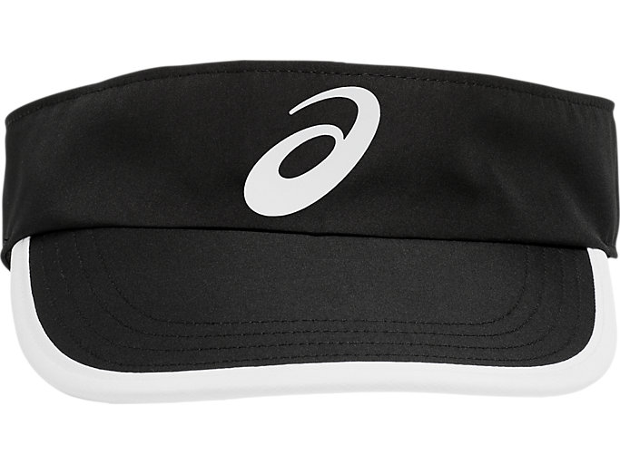 Front Top view of PERFORMANCE VISOR, PERFORMANCE BLACK