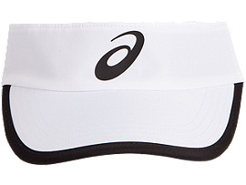 Front Top view of PERFORMANCE VISOR, BRILLIANT WHITE