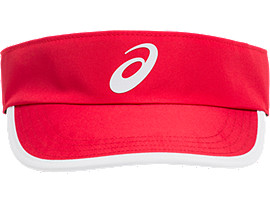 Front Top view of PERFORMANCE VISOR, SPEED RED