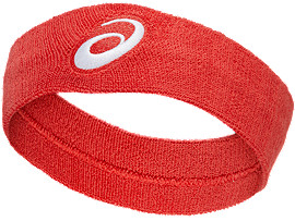 Front Top view of PERFORMANCE HEADBAND, SPEED RED