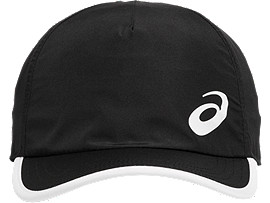 Front Top view of PERFORMANCE CAP, PERFORMANCE BLACK