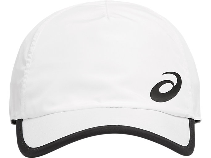 Front Top view of PERFORMANCE CAP, BRILLIANT WHITE