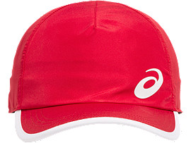 Front Top view of PERFORMANCE CAP, SPEED RED