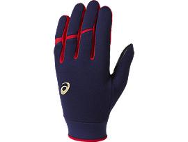 ウォームアップ用手袋(両手), ネイビー