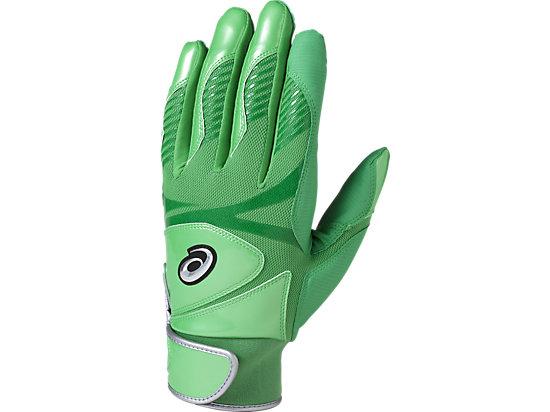 バッティンググローブ カラー 手袋 (両手用), グリーン