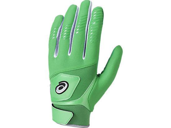 守備用 カラー 手袋 (片手用), グリーン