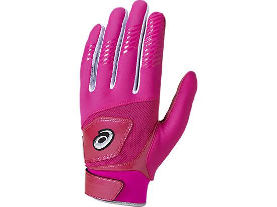 守備用 カラー 手袋 (片手用), ディバピンク杢