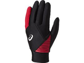 ウォームアップ用 手袋 (両手用), パフォーマンスブラック/フラッシュイエロー