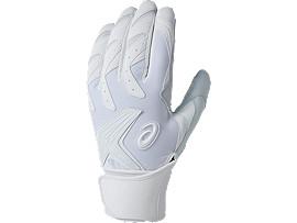 野球 バッティング グローブ SPEED AXEL 100 スピードアクセル, WHITE/WHITE
