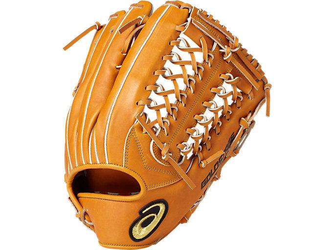 GOLD STAGE ROYAL ROAD ロイヤルロード 軟式用 グローブ 外野手用(タテ) サイズ14 外野手用, Lブラウン