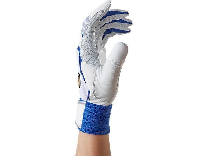 Alternative image view of SPEED AXEL バッティング用手袋, ホワイト / ロイヤル