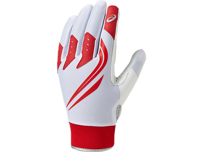 NEOREVIVE 守備用手袋, ホワイト×レッド