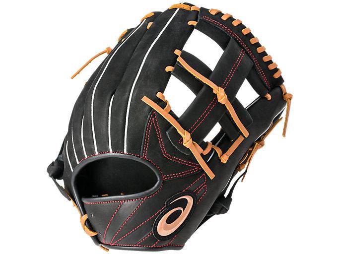 Front Top view of PROFESSIOANAL STYLE プロフェッショナルスタイル(田中選手モデル) 内野手用, ブラック×Lブラウン