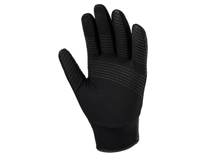 Back view of SPEED AXEL SM 守備用手袋, ブラック×ブラック