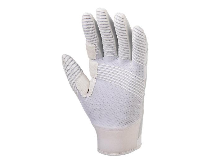 Back view of SPEED AXEL SM 守備用手袋, ホワイト×ホワイト