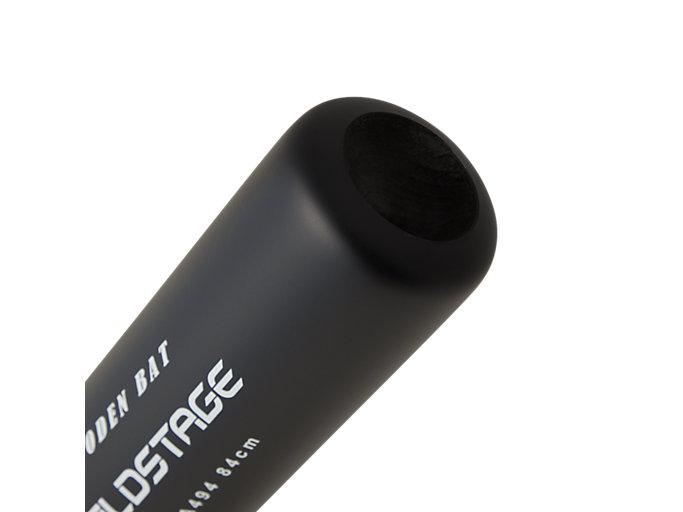 Alternative image view of GOLDSTAGE ゴールドステージ 軟式用木製バット, ブラック