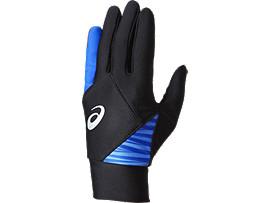 ジュニア用 ウォームアップ用手袋 (両手用), BLACK/BLACK