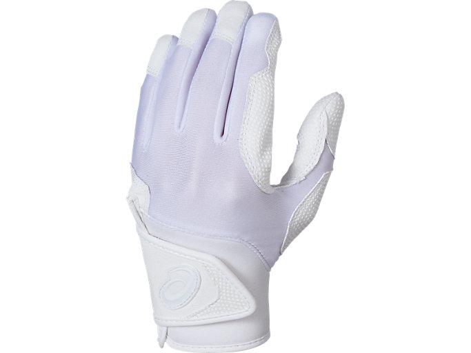 STARSHINE バッティング兼守備用手袋, ホワイト×ホワイト