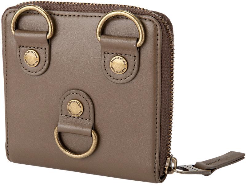 D-Ring Wallet Hunter Green 5 BK