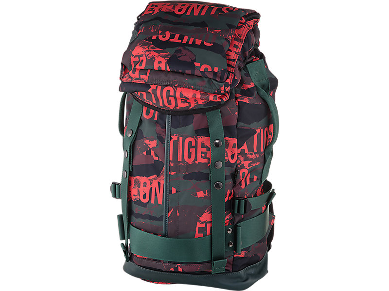 Printed Backpack FIERY RED 1 FT