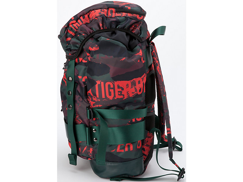 Printed Backpack FIERY RED 9 Z