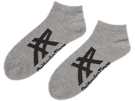 ANKLE SOCKS, DARK GREY/PERFORMANCE BLACK