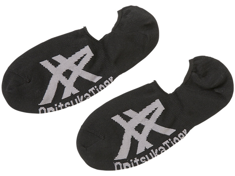 INVISIBLE SOCKS PERFORMANCE BLACK/DARK GREY 1 FT
